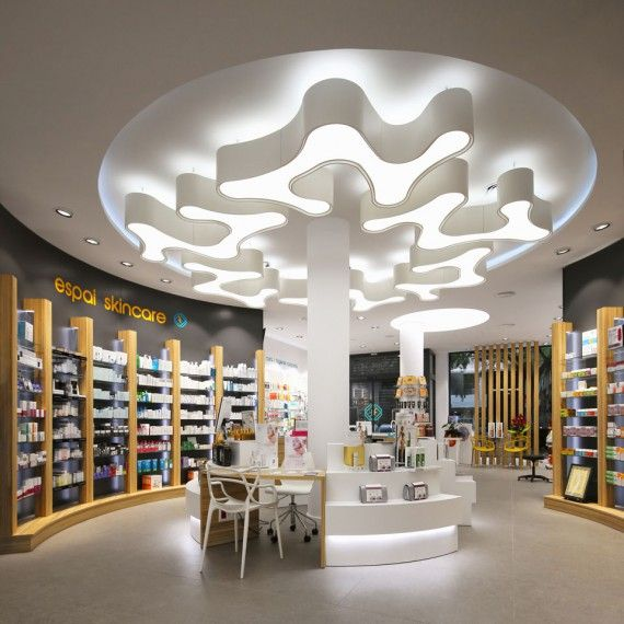 Healthcare store lighting | City Lighting Products | Commercial Lighting | www.facebook.com/CityLightingProducts