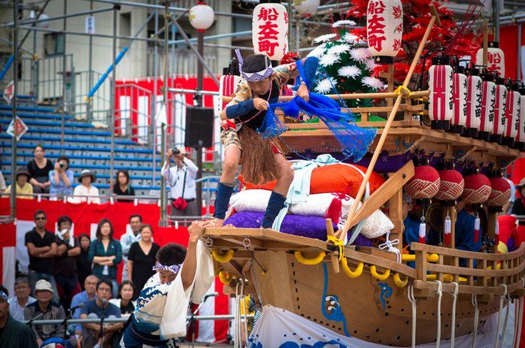 長崎くんち 2013 船大工町 傘鉾・川船 | Nagasaki365 - 長崎の今をお届けします。