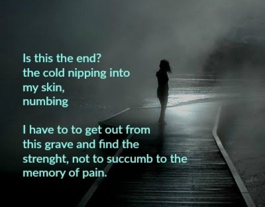 THE HAUNTING A POEM (Hurt, Pain,betrayal of love and moving on) | hubpages