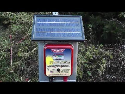 Electric fence chargers that are solar powered do require a few basic maintanance duties ! To see more videos about Horses and to listen to a radio show abou...