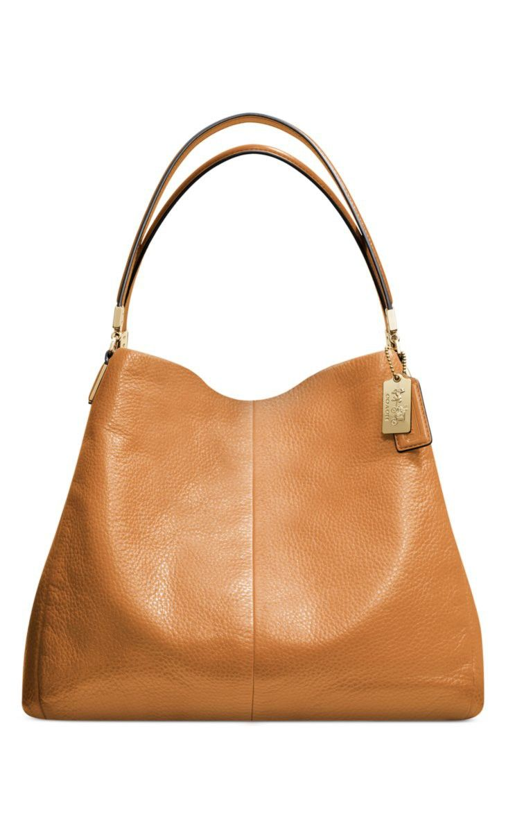 This shoulder bag is great to grab and go! #Sponsored