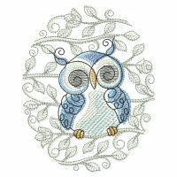 Vintage Owl 2