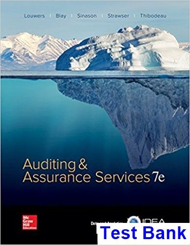 50 best test bank download images on pinterest banks manual and auditing and assurance services 7th edition louwers test bank test bank solutions manual accounting scandalsebook pdfbook fandeluxe Images
