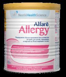Альфаре Аллерджи смесь сухая молочная полуэлементная для детей 450г  — 1530р.  Смесь AlfareAllergy специально создана для кормления детей, страдающих АБКМ и которые нуждаются в длительной диетотерапии.  Специализированный пищевой продукт диетического лечебного питания на основе полностью гидролизованного белка молочной сыворотки, полноценная сбалансированная сухая смесь для детей с аллергией на белок коровьего молока с рождения. Может использоваться в качестве единственного источника…