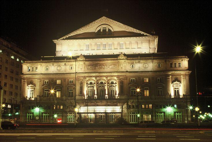 Teatro Colón. Ciudad de Buenos Aires, Argentina.