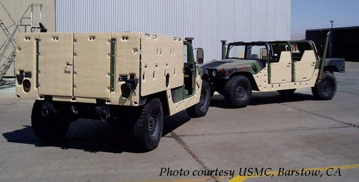 HMMWV Armor Configurations - Explosive Resistant Coating (ERC)