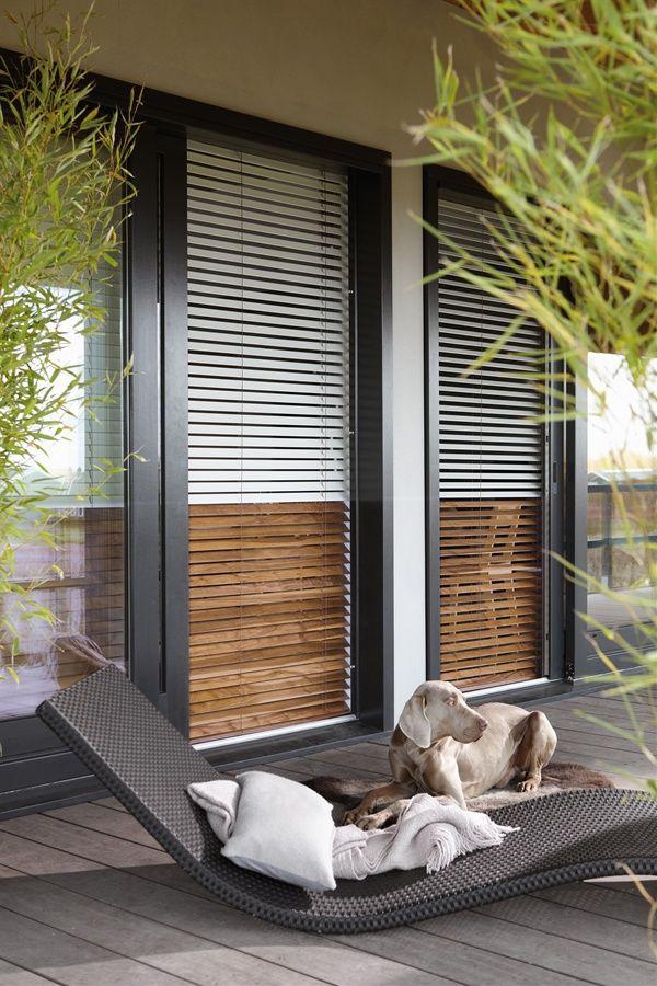 Luxaflex® houten jaloezieën, haal de natuur naar binnen.