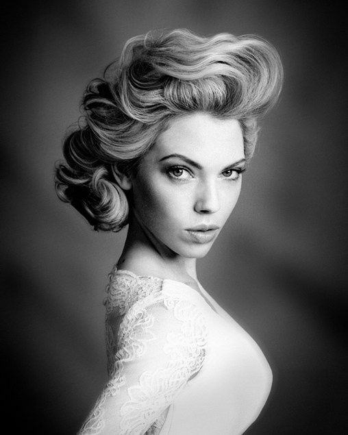 Bridal Inspiration These Bridal Updos Are The Real Deal: Hollywood Glamour Hair, Glamour