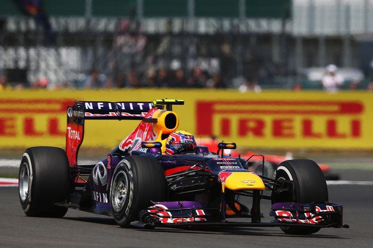 2013 GP Wielkiej Brytanii (Silverstone) Red Bull RB9 - Renault (Mark Webber)