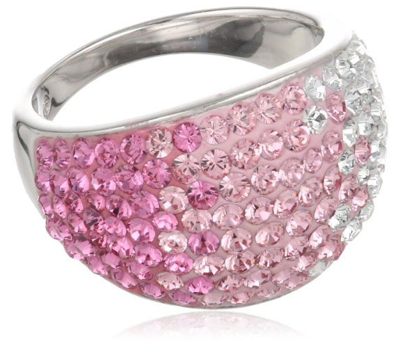 Pink Swarovski Ring Pretty in pink... #SizzlingSummerBling@catalogs