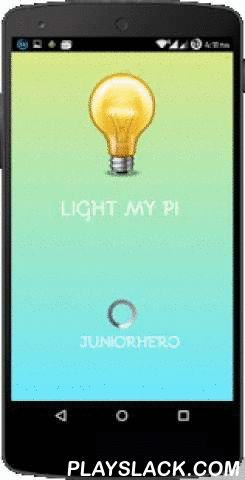LightMyPi  Android App - playslack.com , Control All Your Headless Raspberry PI GPIO and UART TX RX Pins from anywhere in the world without using SSH and Port Forwarding.Sounds Complex?Don't worry, this is going to make your time with Raspberry Pi easier and fun. All you have to do is install the app and install HTTP server, wiringPi library and upload our Switch.php file on your raspberry to get this app working. If you want to control from anywhere in the world install Weaved on Raspberry…