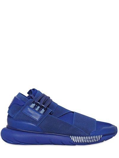 Qasa Elastic High Sneakers