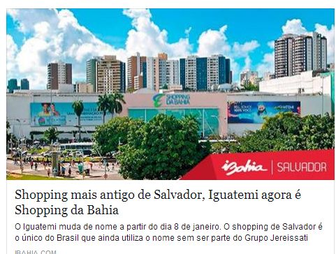 SHOPPING DA BAHIA