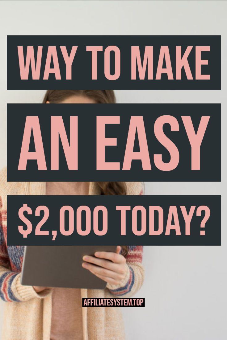 Way to Make an Easy $2,000 TODAY? – Top Affiliate System | Make Money Online | Marketing | Passive Income | Work From Home | Job | Blogg
