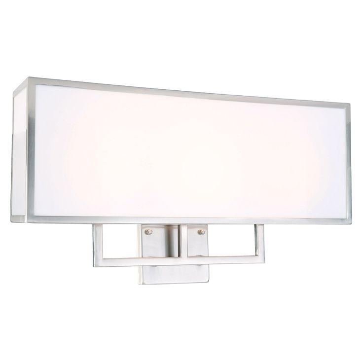 Vanity Lights Masters : option for master Shop Portfolio 3-Light Brushed Nickel Bathroom Vanity Light at Lowes.com ...