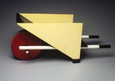 Designer: Gerrit Th. Rietveld, Dutch, 1888-1964  Maker: G.A. van de Groenekan  Medium: Wood. pigment, metal Place Made: Netherlands  Dates: designed 1923; made 1958