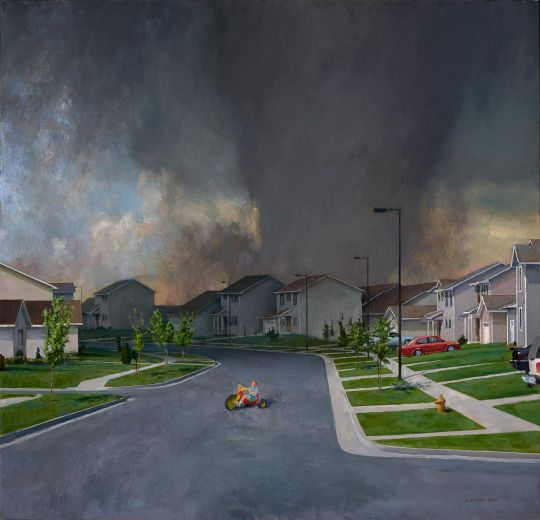 John Brosio - After School 3, 48 x 50, 2013