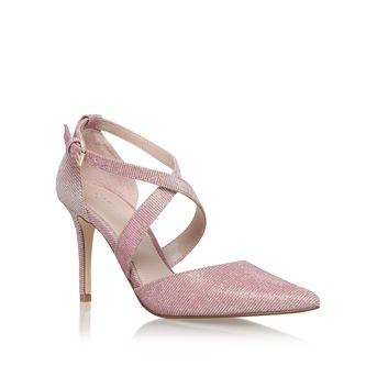 Kross 2 Pink Mid Heel Court Shoes from Carvela Kurt Geiger