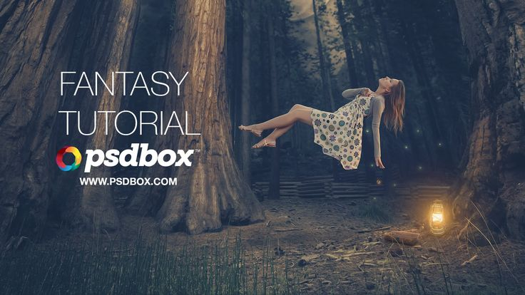 In this advanced manipulation tutorial I will show you how I created a lady floating in the air in the middle of a forest. We will create beautiful light eff...