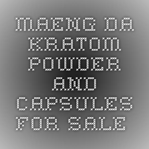 Maeng Da Kratom Powder and Capsules for Sale...