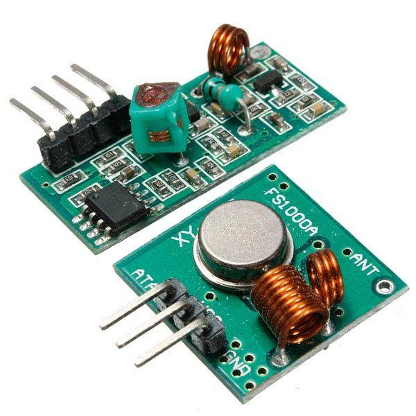 433 MHz rf Sender mit dem Empfängerbastelsatz für den arduino Arm mcu Radio