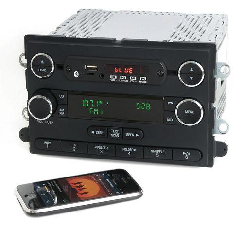 Ford 08-09 Taurus Mercury Sable Radio Bluetooth Aux Micro SD USB 8G1T-18C815-GA