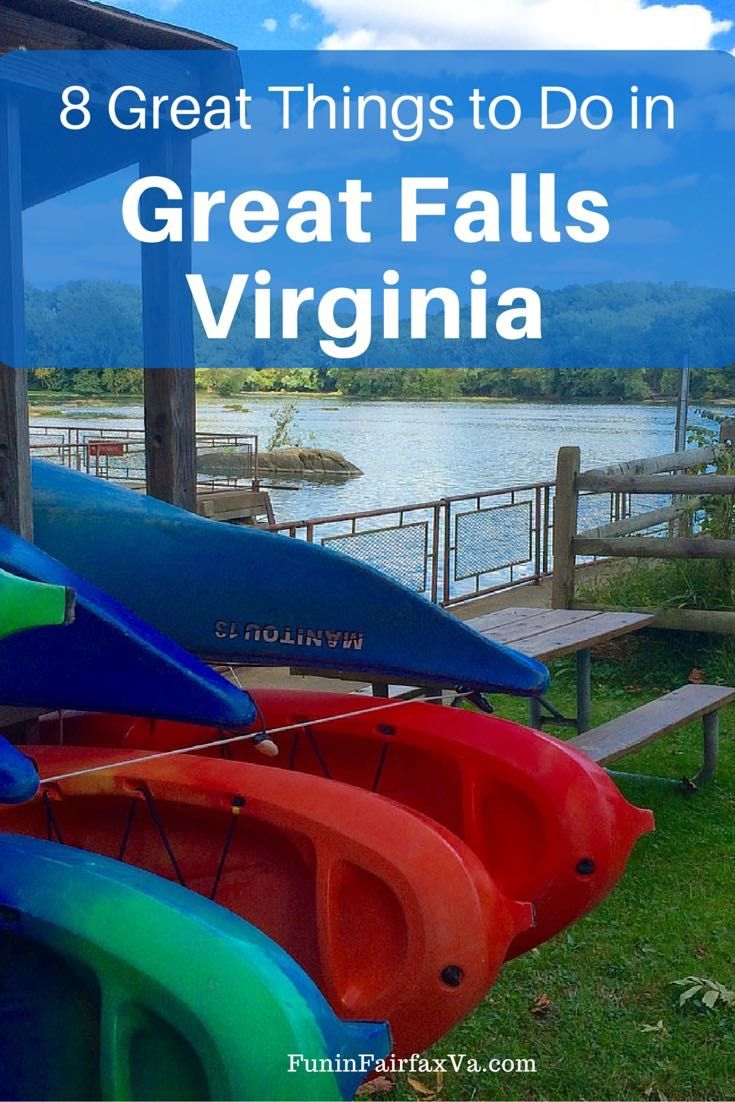 Great Falls Virginia, best known for its namesake park, is a wonderful place to…