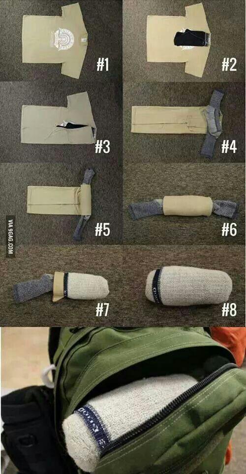 Como doblar ropa