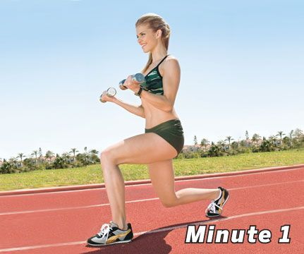 8 Minute Slim Down - do this a few days a week and see results.