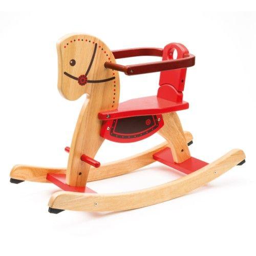 Classique, évolutif et en bois massif vous apprécierez sa grande stabilité. Son arceau de sécurité anti-chute se retire lorsque l'enfant grandit, il peut ainsi continuer à enfourcher sa monture pour de nouvelles aventures.