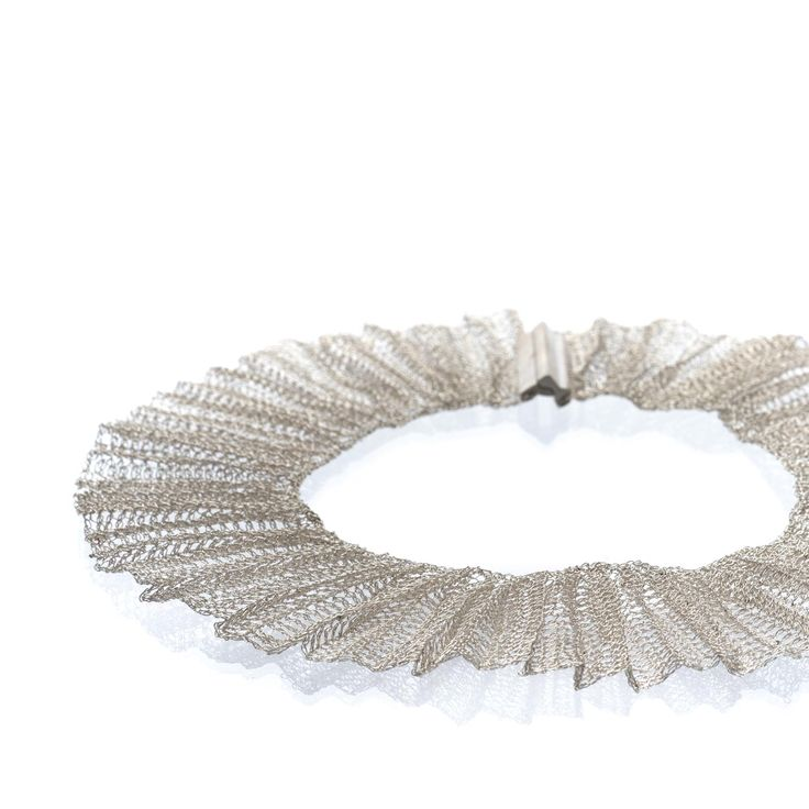 Necklace- Pleated Collection by FROU FROU