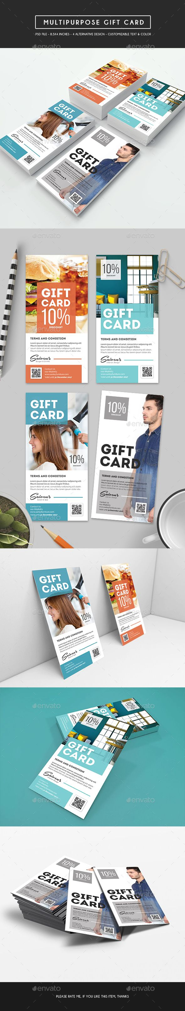 The 25 best buy a gift voucher ideas on pinterest gift card multipurpose gift card psd template only available here alramifo Images