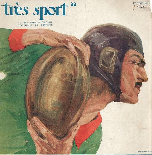 Très Sport 1922. #rugby