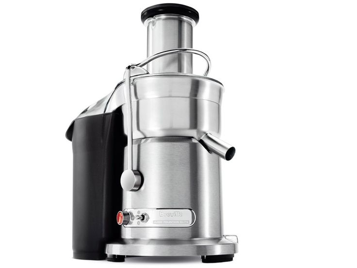 Die-Cast Juice Fountain Elite   Breville LOVE it I use it for veggie and hard fruits but it does not do most of our greens we use the Omega for greens.