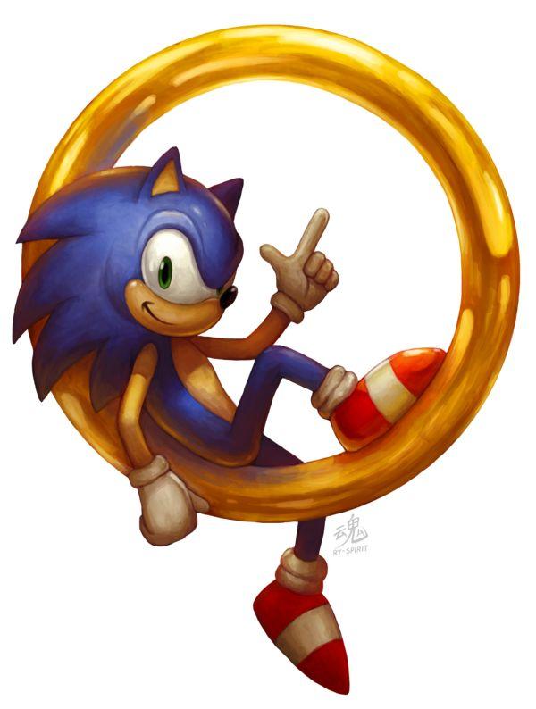 Sonic the Hedgehog by Ry-Spirit.deviantart.com on @DeviantArt