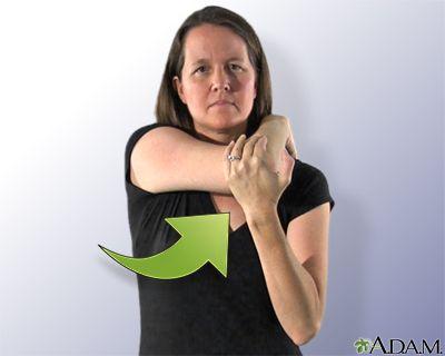 Estiramiento de la parte posterior del hombro