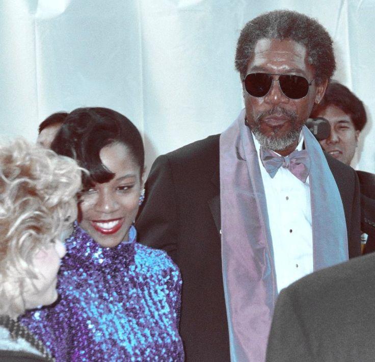 Jeanette Adair Bradshaw Amp Morgan Freeman 1 Married
