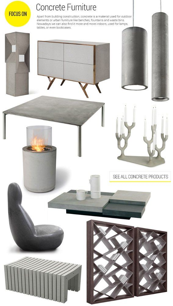 #archiproducts focus 139: #concrete furniture www.archiproducts.com/en/focus/569708/focus-139.html