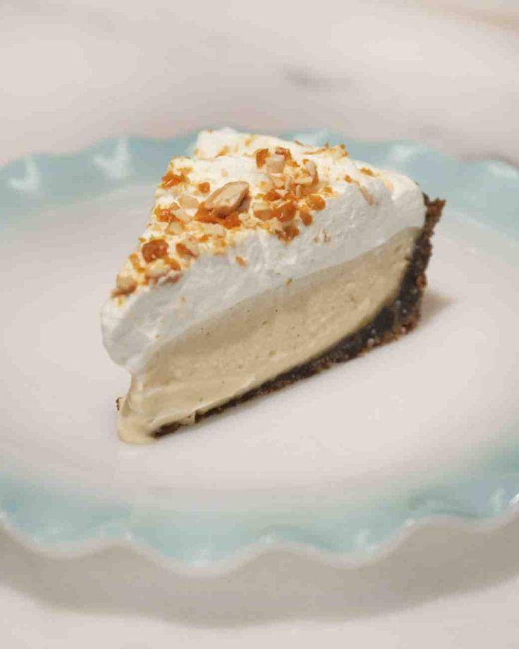 Butterscotch Cream Pie with Gingersnap Crust