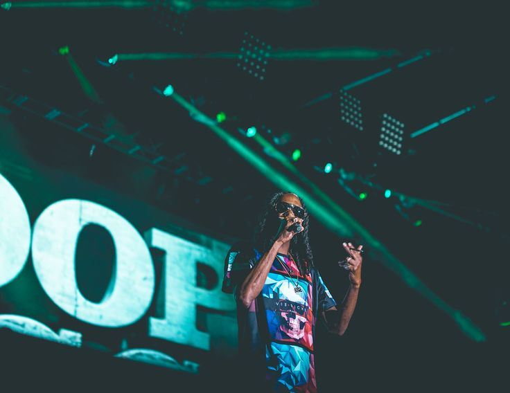 Snoop Dogg performing live at Life Is Beautiful Music & Art Festival in Las Vegas.