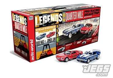 Hey JEGS Fans, This Would Look Really Nice Under Your Christmas Tree!Now In Stock! Blue Max/Jungle Jim Slot Car Drag Racing Track Set!  See Info And Price When You Click On The Link Below!  http://www.jegs.com/i/JEGS/551/SRS257%252F03/10002/-1