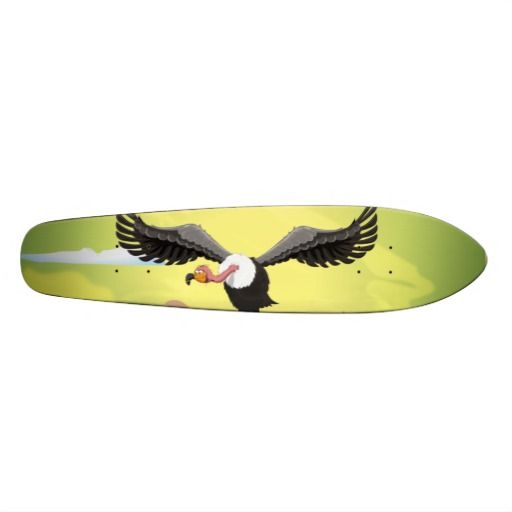Flying Vulture Cartoon
