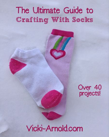 Did you know there is a whole craft world dedicated to crafting with socks? There is! The Vicki Arnold Blog has gathered all of these crafting