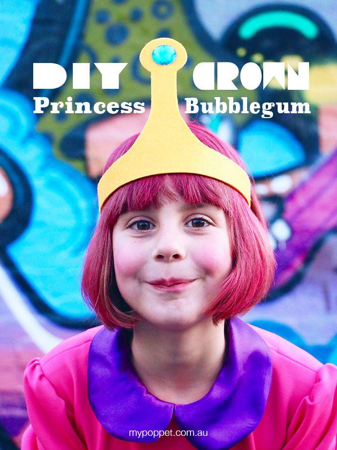 How to make Princess Bubblegum crown - Cosplay Costume mypoppet.com.au