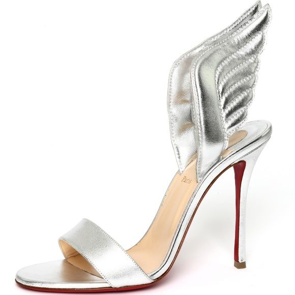 8fe2b2b139d Christian Louboutin Samotresse Wing Sandals Heels New in original ...