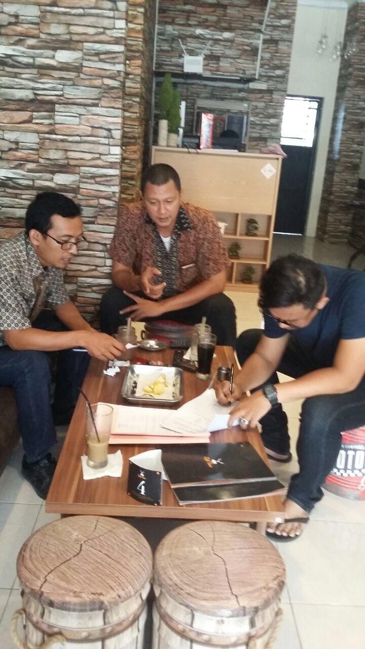 "Pendataan WP baru ""Coffee Town"" (Wp mengisi Spopd Pajak Restoran)"