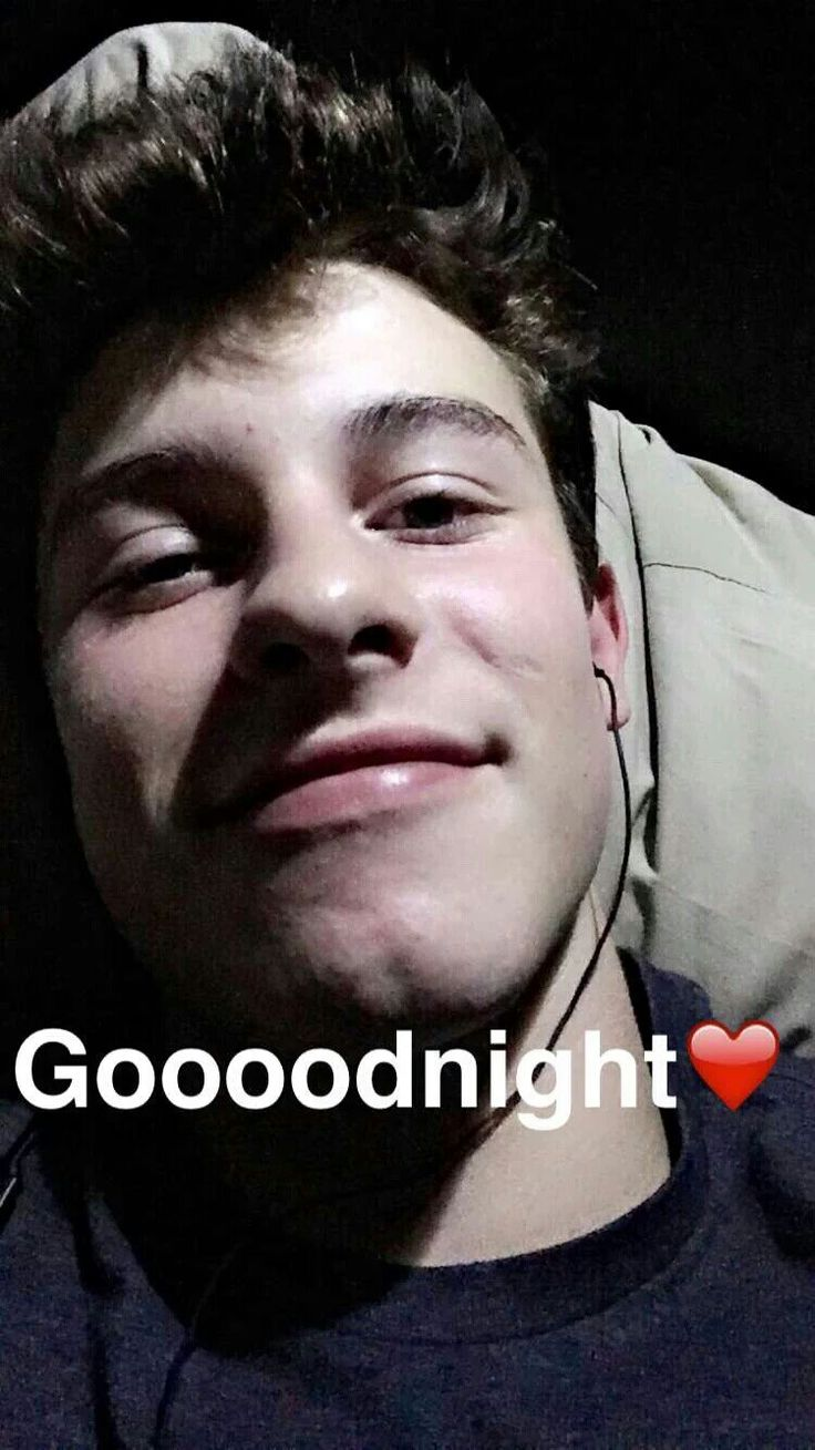 Shawn Mendes via snapchat 2016