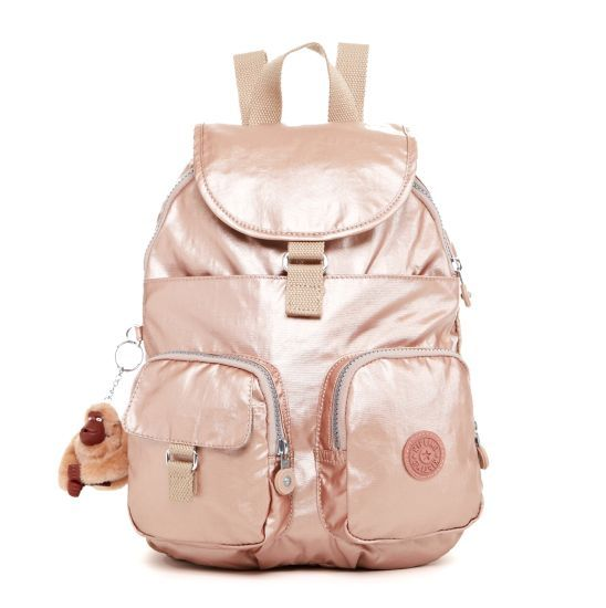 Firefly Small Backpack Rose Gold Small Backpack Blush