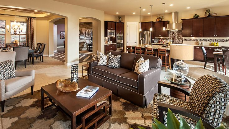 The preserve at hastings farms new homes queen creek for Living room queen creek