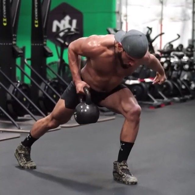 Awesome workout from senior Kettlebell Coach @primal.swoledier Try this single kettlebell complex  -2 reps each movement -3 times…